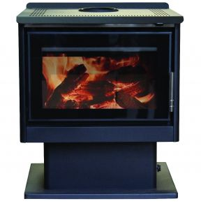 Cannon Jarrah Wood Combustion Heater
