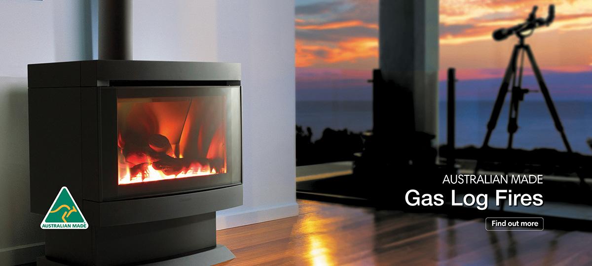 Cannon Australian Made Gas Log Fires